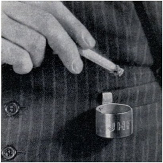 пепельница-петличка